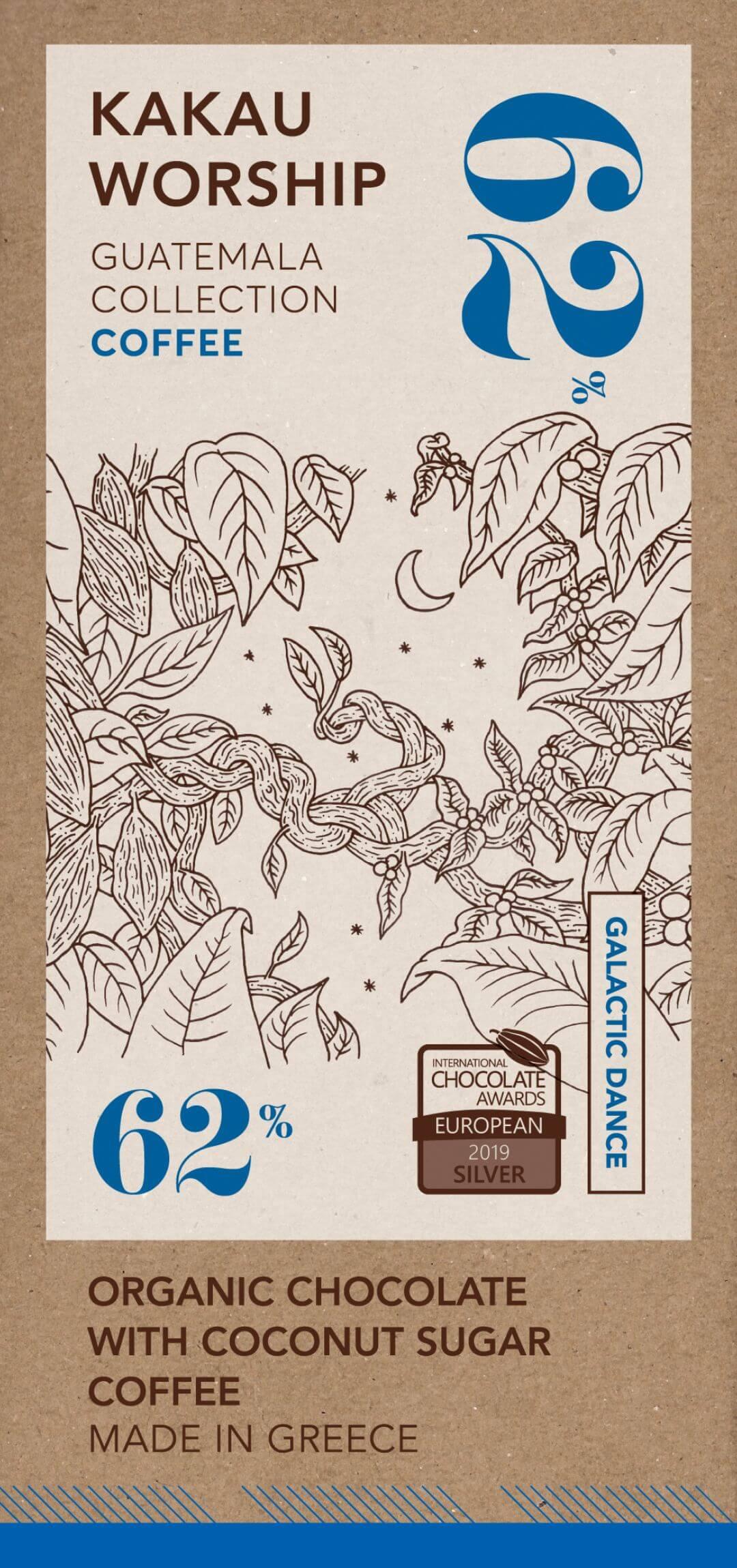 Galactic dance - organikus csokoládé kávéval