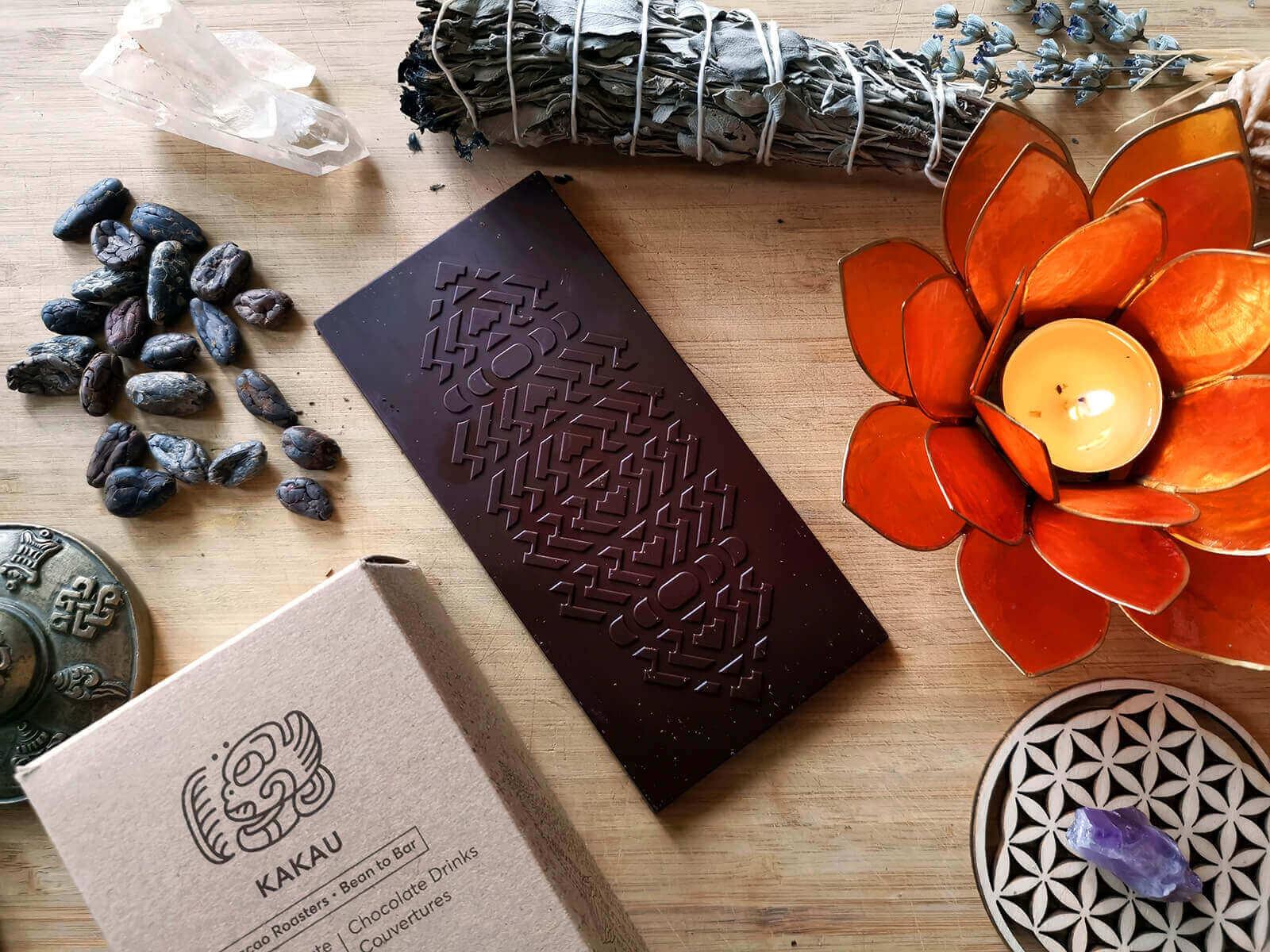 Organikus bio csokoládé